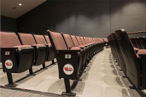 auditorium seating, branded, Scarsdale, NY
