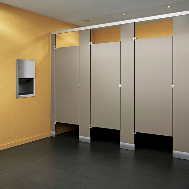 School Bathroom Partitions Single Occupant Stall Many