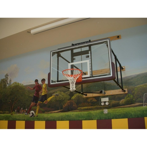 basket ball backstop