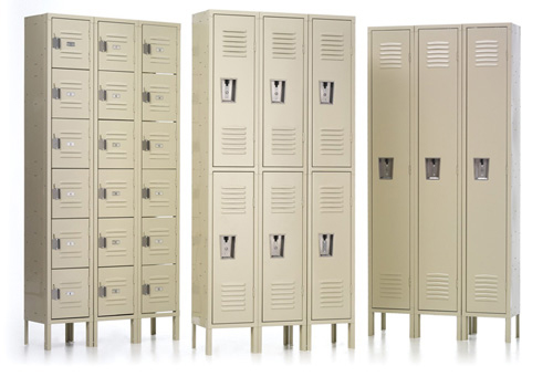 traditional lockers