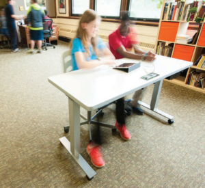 Mobile furniture for classroom