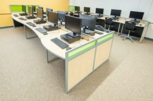 school lab workstations