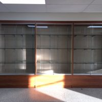 school display case westchester ny