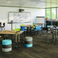 Supportive seating in classroom