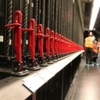 High School Stage Rigging Inspection
